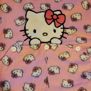 Hello Kitty onesie pj's